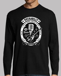 retro rockabillymusik schaukelt für immer vintage rock-and- usa t-shirt 1958
