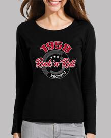retro rocker t-shirt 1958 rock and roll music vintage rockabilly usa rock music rockers 1950s