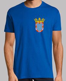 retro shield shirt sherry province border