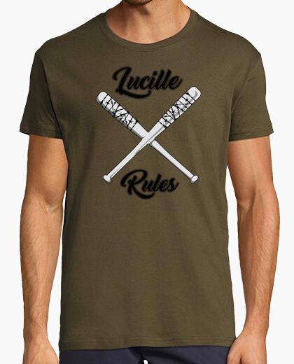 Retro shirt lucille man rules t-shirt