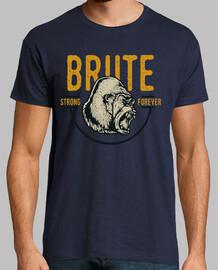 retro style vintage gorilla t shirt strong forever gorillas