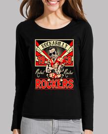 retro t shirt 1968 rocker rockabilly music psychobilly vintage rock and roll usa rockers
