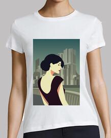 retro t shirt girls vintage art deco women