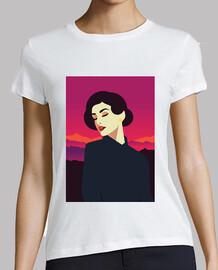 retro t shirt girls vintage art women retro