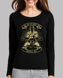 retro t shirt muay thai martial arts boxing thai