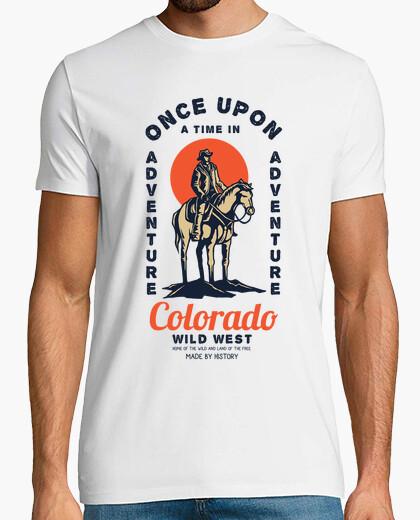 Retro t shirt wild west cowboys vintage colorado t-shirt