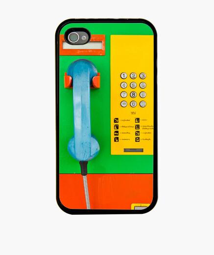 Funda iPhone Retro Teléfono II
