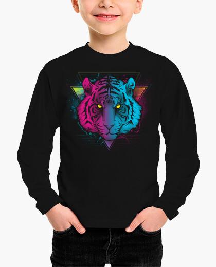 Retro tiger children's clothes