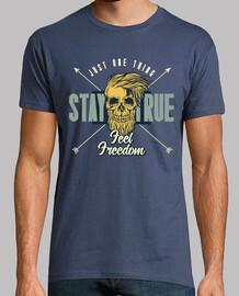 retro vintage hipster skull t shirt