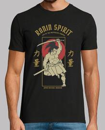 retro vintage japanese warrior t-shirt