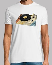 retro vinyl turntable gift
