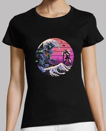Retro Wave EVA Shirt Womens