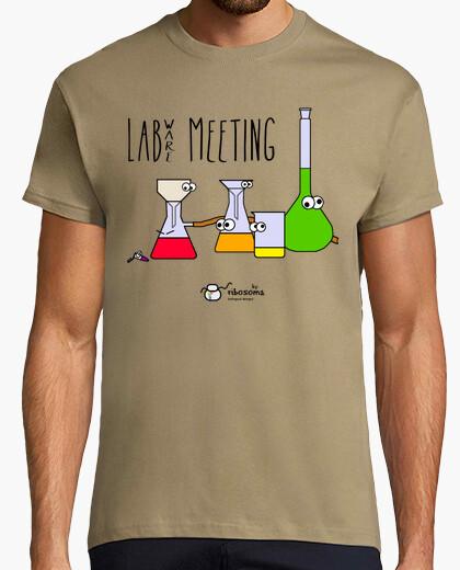 Tee-shirt réunion de labware (fond clair)