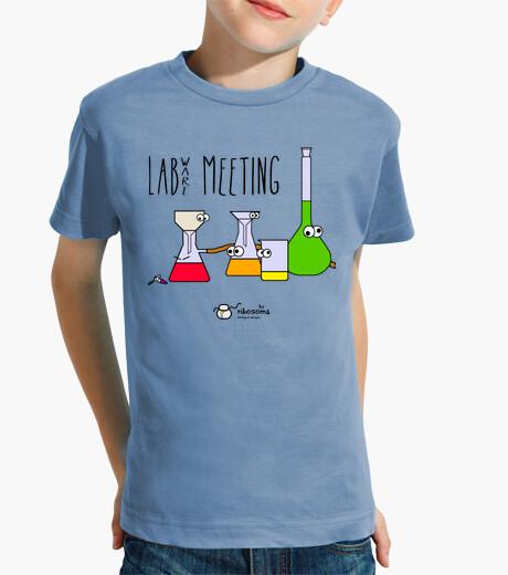 Vêtements enfant réunion de labware (fond clair)