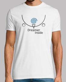 rêveur intérieur blanc / bleu (dreamcast)