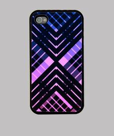 revisted tartán púrpura iphone 4