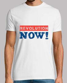 Revolution jetzt (blau)