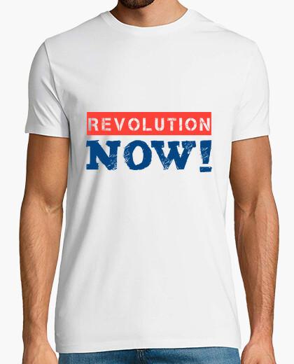 Camiseta REVOLUTION NOW (blue)