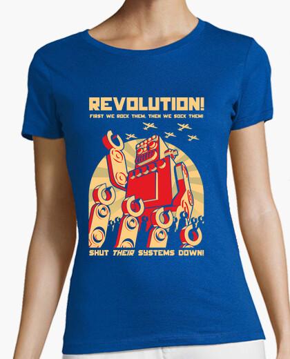 Camiseta revolutution robot