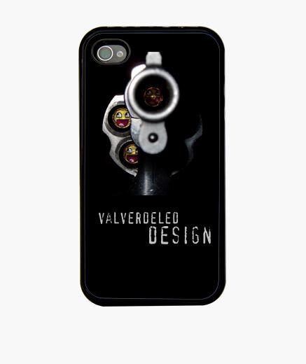 Funda iPhone Revólver Iphone 4/4s. Premium