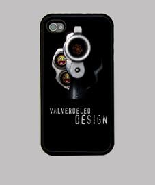 Revólver Iphone 4/4s. Premium