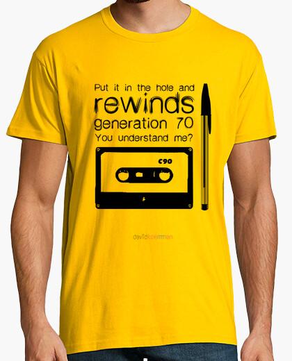 Camiseta REWINDS 70