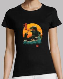 rey de la camisa de sushi para mujer
