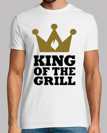 rey de la corona de la parrilla