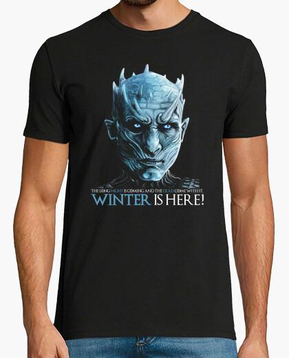 Camiseta Rey de la Noche - Winter is Here! (Juego de Tronos)