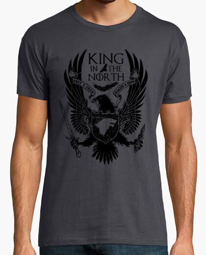 Camiseta rey en el norte
