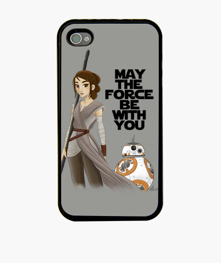 Funda iPhone Rey from Star Wars