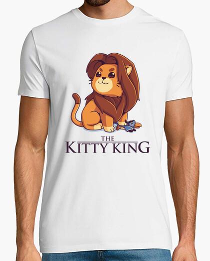 Rey Gatito Simba Leon 90s Camiseta