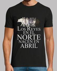 Reyes en el Norte nacen en Abril