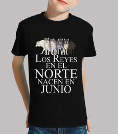 Reyes en el Norte nacen en Junio
