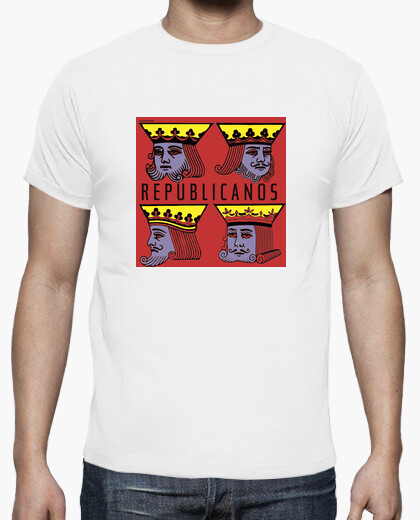 Camiseta reyes republicanos 2