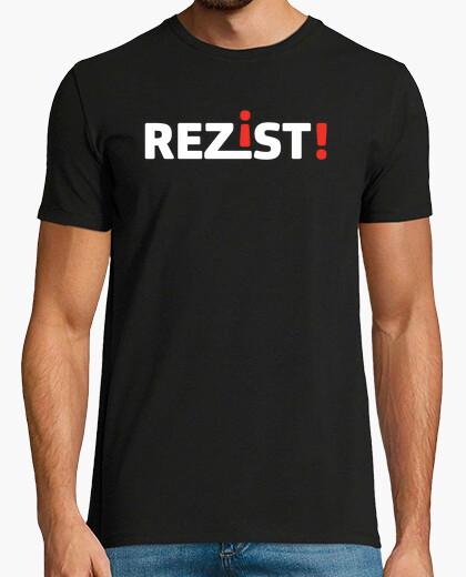 Camiseta rezist!