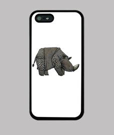 rhinocéros blancs iphone