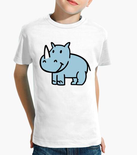 Vêtements enfant rhinocéros bleu