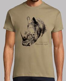 rhinocéros noir (d ice ros bicornis)