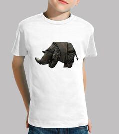 rhinocéros noir enfant t