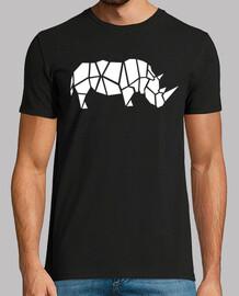 rhinocéros origami