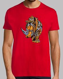 rhinocéros steampunk