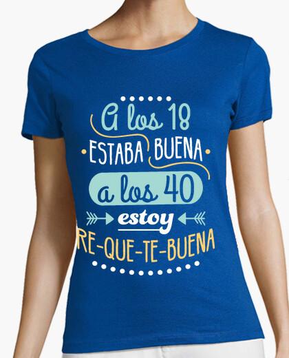T-shirt ri-que-te-bene per los 40