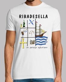 Ribadesella - Camiseta de manga corta