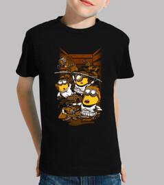 ribelli spregevoli - bambini t-shirt