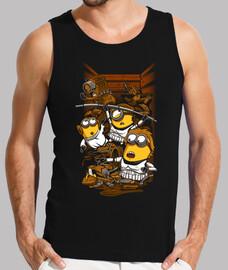 ribelli spregevoli - t-shirt senza maniche