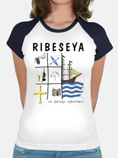 ribeseya - baseball tipo camicia della ragazza