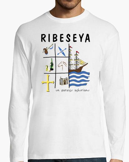 Ribeseya - Camiseta de manga larga