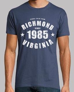 richmond virginia depuis 1985