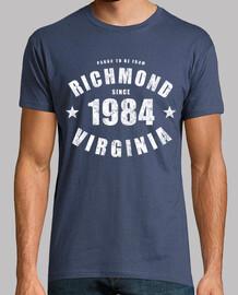 Richmond Virginia since 1984